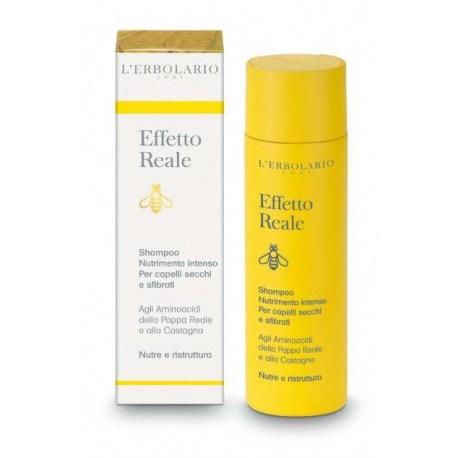 Lerbolario Effetto Reale šampon za suhu i oštećenu kosu, 200ml