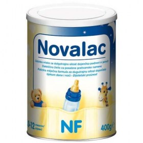Novalac NF home dairy food for often hungry infants (0-12 months)
