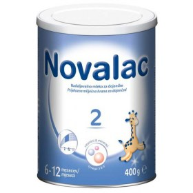Novalac 2 transitional dairy formulae for infants (6-12 months) 400g