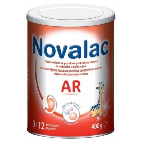 Novalac AR dairy foods for infants with food return 400g