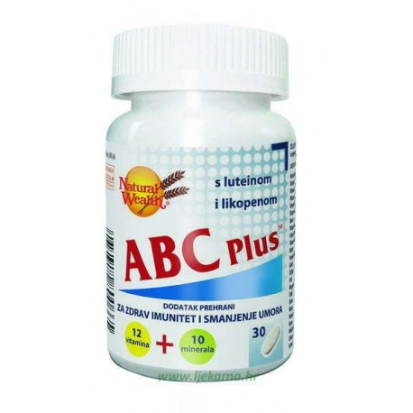 Natural Wealth ABC Plus, 30 kom.