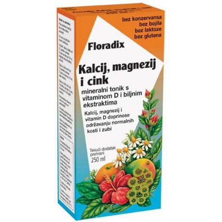 Floradix kalcij, magnezij i cink®, 250ml