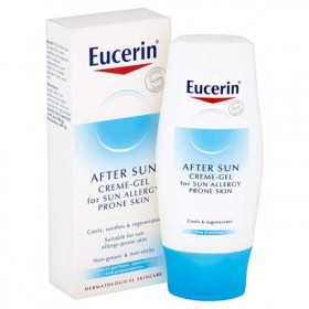 Eucerin Cream-gel for protection against allergies after sunbathing