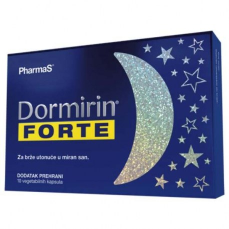 Dormirin Forte kapsule, 10 kom.