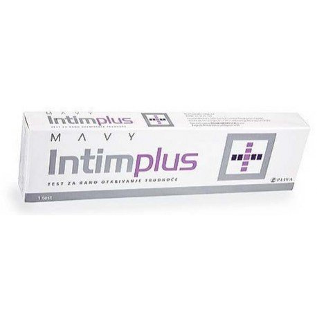 Mavy IntimPlus test za rano otkrivanje trudnoće