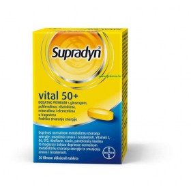Supradyn Vital 50+ tablete, 30 kom.