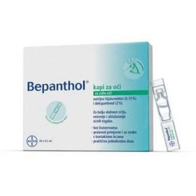 Bepanthol eye drops 20 x 0.5ml
