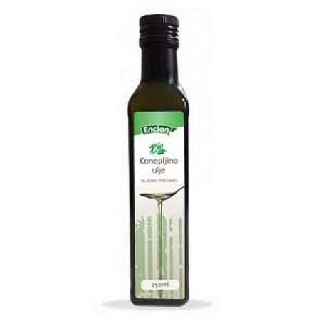 Encian BIO konopljino ulje, 250ml