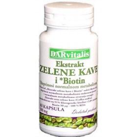 DARvitalis Ekstrakt zelene kave i *Biotin kapsule, 60 kom.
