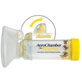 AeroChamber Flow-Vu inhaler, for children 1-5 years.