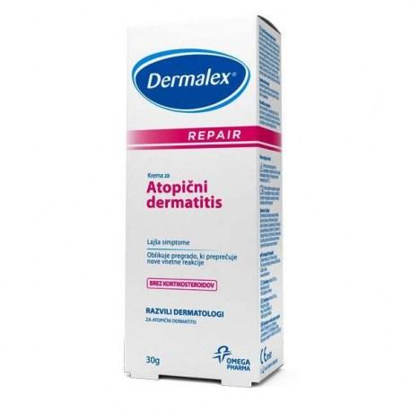 Dermalex Repair krema za atopijski dermatitis, 30g