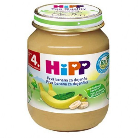 Hipp - Prva banana za dojenče, 4+ mj.