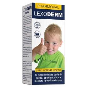 Lexoderm set (sprej i krema)