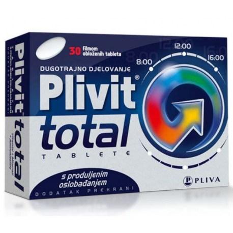 PLIVIT Total tablete s produljenim oslobađanjem, 30 kom.