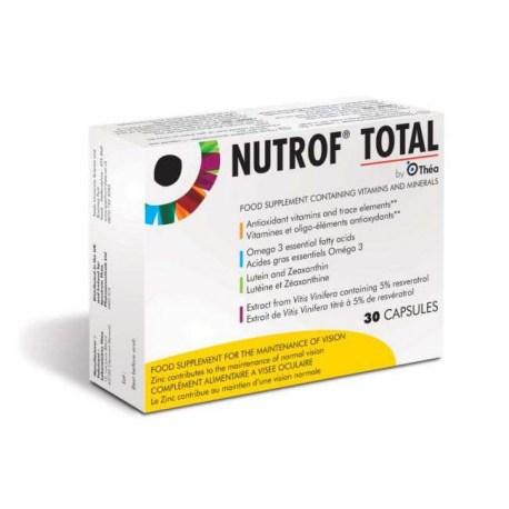 Nutrof Total kapsule za zdrave oči, 30 kom.