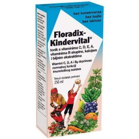 Floradix Kindervital tonik s vitaminima, 250ml