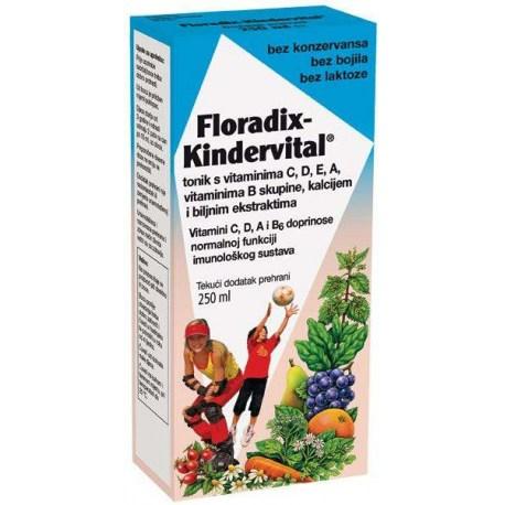 Floradix Kindervital tonik s vitaminima, 250ml