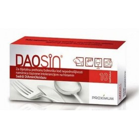 DAOSIN capsules to help with histamine intolerance, 10 pcs.