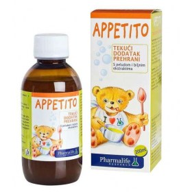 Appetito dietary supplement with pollen and plant extracts, 200ml
