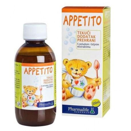 Appetito dodatak prehrani s peludom i biljnim ekstraktima, 200ml