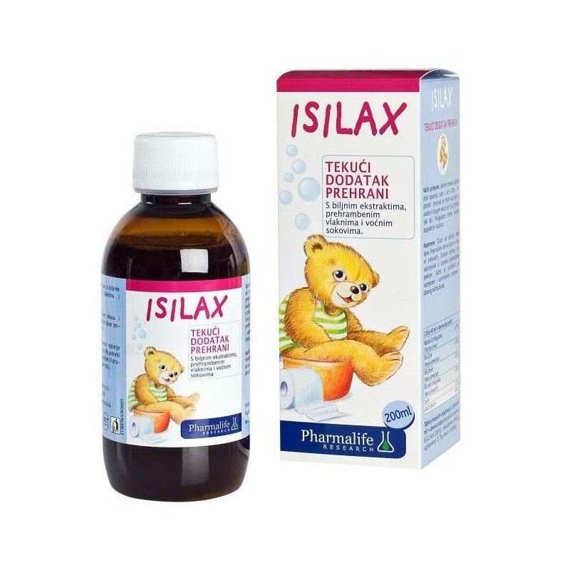 Isilax dietary supplement with plant extracts, dietary fiber and fruit  juices, 200ml
