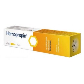 HEMOPROPIN ointment with propolis to relieve hemorrhoid problems, 20g