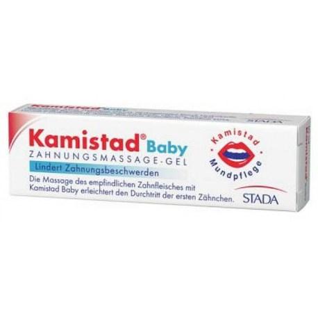 Kamistad Baby gel za masažu desni, 10ml