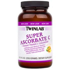 Twinlab Super Ascorbate C prah, 226 g