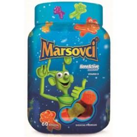 Marsovci s BoneActive kompleksom ukusni dodatak prehrani za male sportaše, 60 kom.