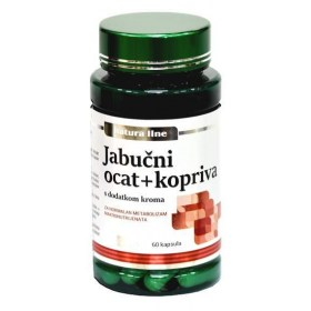 Biopharma Apple cider vinegar + nettle capsules 60 pcs.