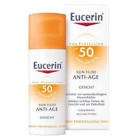 Eucerin Sun Anti-Age krema SPF 50, 50ml