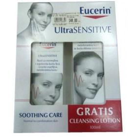 Eucerin Ultrasensitive Fluid + GRATIS losion za čišćenje