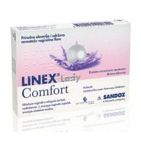 LINEX Lady Comfort vaginalne tablete, 2 caps