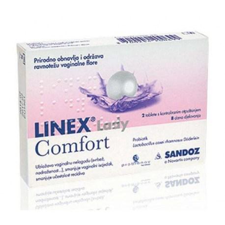 LINEX® Lady Comfort vaginalne tablete, 2 caps