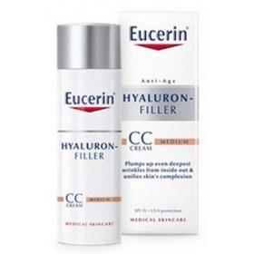 Eucerin Hyaluron-Filler CC krema, srednje tamna nijansa