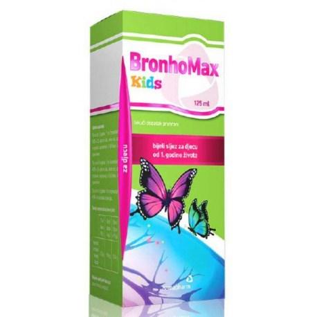 BronhoMax KIDS sirup za kašalj, 125ml