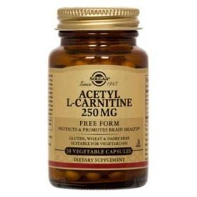 Solgar Acetyl-L-carnitine capsules 30x250mg