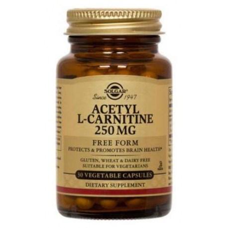 Solgar Acetyl-L-carnitine kapsule za mršavljenje, 30x250mg