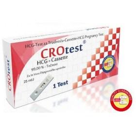 CROtest HCG pregnancy test