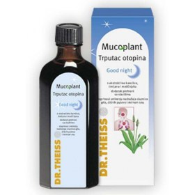Mucoplant Planer Solution Good night with chamomile, thyme and lemon balm extracts, 250ml