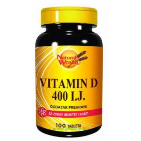 Natural Wealth Vitamin D 400 i.j.