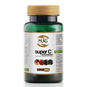 Super C Antioksidans kapsule, 60x500mg