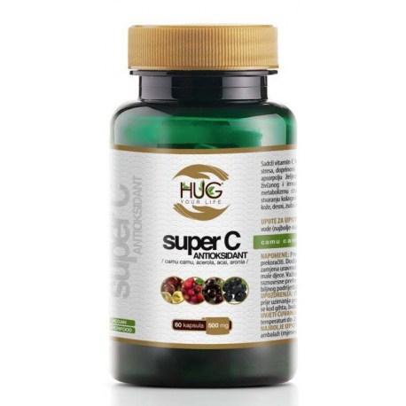 Super C Antiosidant kapsule, 60x500mg
