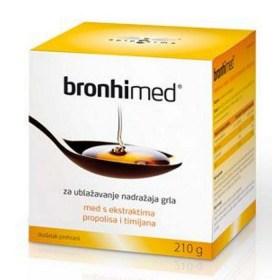 BRONHI MED mješavina meda i pčelinjih proizvoda s dodacima
