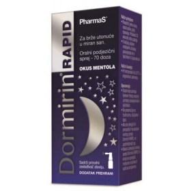Dormira's Rapid spray sinks into restful sleep faster