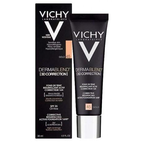 Vichy 3D KOREKCIJA Korektivni puder nijansa 45, 30ml