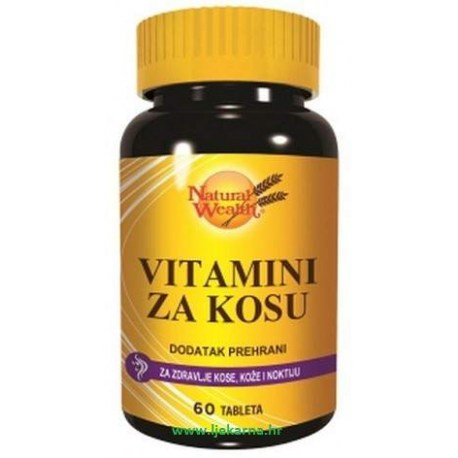 Natural Wealth Vitamin za kosu