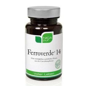 FERROVERDE 14 kapsule sa željezom iz čistog biljnog izvora