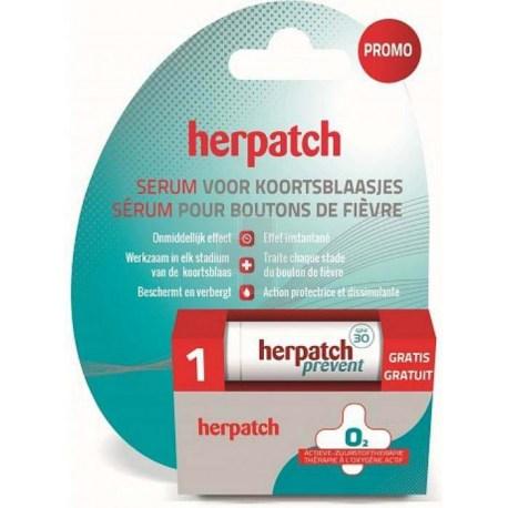 Herpatch Herpes Serum protiv herpesa na usnama + GRATIS balzam za zaštitu