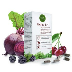 Herba Fe željezo u kapsulama, 30x28mg